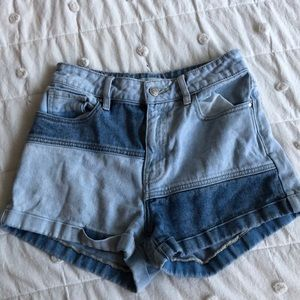 PacSun Two atoned Hi Waist shorts